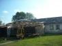 2009 obnova střechy před brusírnou